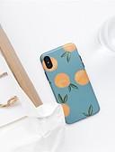 halpa iPhone kotelot-Etui Käyttötarkoitus Apple iPhone XS Max Ultraohut / Kuvio Takakuori Hedelmä Pehmeä TPU