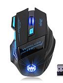halpa Puhelimen kuoret-ZELOTES S30 Langaton 2.4G Gaming Mouse RGB-valo 3200 dpi 4 Säädettävät DPI-tasot 7 pcs näppäimet