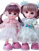 hesapli Asker Saat-Kız Bezi Moda Bebeği Konuşan oyuncak Kız Bebeklerin 14 inç Silikon - Smart canlı Çocuk / Genç Kid Unisex Oyuncaklar Hediye