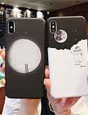 halpa iPhone kotelot-Etui Käyttötarkoitus Apple iPhone XS / iPhone XR / iPhone XS Max Hehkuu pimeässä / Himmeä Takakuori Scenery Kova PC