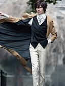 رخيصةأون سترات و بدلات الرجال-مستوحاة من البانجو الكلاب الضالة كوكي أنيمي أنيمي أزياء Cosplay الدعاوى تأثيري لون سادة كم طويل ربطة عنق / معطف / Vest من أجل رجالي / نسائي