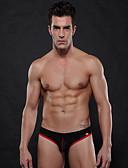 abordables Sous Vêtements Exotiques pour Hommes-Homme G-string Sous-vêtements Couleur Pleine Taille médiale