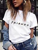 povoljno Majica s rukavima-Majica s rukavima Žene Dnevno Slovo Slim Obala / Ljeto