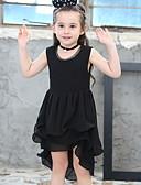 זול שמלות לבנות-שמלה אחיד בנות ילדים