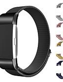 זול להקות Smartwatch-צפו בנד ל Fitbit Charge 2 פיטביט לולאה בסגנון מילאנו מתכת רצועת יד לספורט