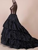 cheap Petticoats-Petticoat Hoop Skirt Tutu Under Skirt 1950s Black Petticoat / Crinoline