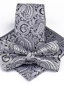זול עניבות ועניבות פרפר לגברים-עניבה ואסקוט - פרחוני / סרוג מסיבה / עבודה / בסיסי בגדי ריקוד גברים