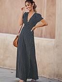 Χαμηλού Κόστους Σετ ρούχων για αγόρια-Γυναικεία Κομψό Θήκη Φόρεμα - Πουά Μακρύ