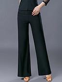abordables Boléros de Mariage-Danse de Salon Bas Femme Entraînement / Utilisation Polyester Ruché Taille moyenne Pantalon