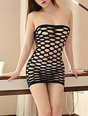 halpa Robes & Sleepwear-Naisten Hameet - Yhtenäinen Katkaistu Punastuvan vaaleanpunainen Purppura Fuksia Yksi koko / Olkaimeton / Super Sexy