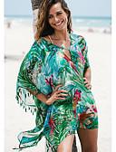זול בגדי ים במידות גדולות-תלתן מידה אחת פרחוני, בגדי ים כיסוי חצאית תלתן בגדי ריקוד נשים