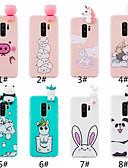 halpa Puhelimen kuoret-Etui Käyttötarkoitus Samsung Galaxy S9 / S9 Plus / S8 Plus Himmeä / DIY Takakuori Piirretty Pehmeä TPU