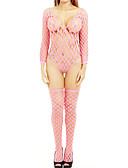 preiswerte Sexy Körper-Damen Anzüge Nachtwäsche - Gitter Solide / Jacquard