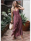 povoljno Haljine za NG-Žene Swing kroj Haljina S naramenicama Maxi