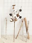 billiga Skjorta-Konstgjorda blommor 2 Gren Klassisk Rekvisita Modernt Modernt Plantor Bordsblomma
