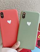 povoljno Zaštitne folije za iPhone-Θήκη Za Apple iPhone XS / iPhone XR / iPhone XS Max Uzorak Stražnja maska Srce Mekano TPU