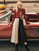 preiswerte Damen Röcke-Damen Boho Schaukel Röcke - Solide