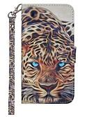 halpa Puhelimen kuoret-Etui Käyttötarkoitus Samsung Galaxy Galaxy S10 Lomapkko / Korttikotelo / Tuella Suojakuori Eläin Kova PU-nahka