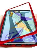 זול מגנים לטלפון-מגן עבור Huawei Huawei P20 / Huawei P20 Pro / Huawei P20 lite מגנטי כיסוי מלא אחיד קשיח זכוכית משוריינת