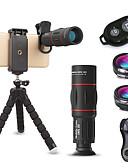 halpa Objektiivit ja tarvikkeet-Matkapuhelin Lens Kalansilmäobjektiivi / Pitkäpolttovälinen objektiivi / Laajakulmaobjektiivi lasi / Alumiiniseos 10X ja enemmän 32 mm 3 m 9.6 ° Jalustalla / Luova / Tyylikäs