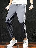 זול מכנסיים ושורטים לגברים-בגדי ריקוד גברים ספורטיבי מידות גדולות מכנסי טרנינג מכנסיים - אחיד שחור אפור XXXL XXXXL XXXXXL