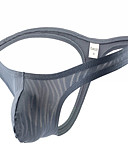 abordables Ropa interior para hombre exótica-Hombre Talla EU / US G-string Underwear 1 Pieza Media cintura