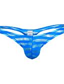 abordables Ropa interior para hombre exótica-Hombre G-string Underwear - Malla 1 Pieza Baja cintura
