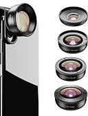 halpa Objektiivit ja tarvikkeet-Matkapuhelin Lens Kalansilmäobjektiivi / Pitkäpolttovälinen objektiivi / Laajakulmaobjektiivi lasi / Alumiiniseos 2X 37 mm 0.01 m 195 ° Uusi malli / Tyylikäs