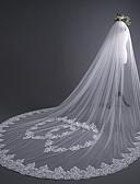 povoljno Vjenčani velovi-One-tier Slatka Style Vjenčani velovi Katedrala Burke s Trim 118,11 u (300cm) Čipka / Til