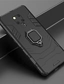 olcso Mobiltelefon tokok-Case Kompatibilitás Huawei Huawei Mate 20 Pro / Huawei Mate 20 Tartó gyűrű Héjtok Páncél Kemény PC mert Huawei Mate 20 lite / Huawei Mate 20 pro / Huawei Mate 20