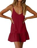 저렴한 여성 드레스-여성용 시프트 드레스 미니 스트랩