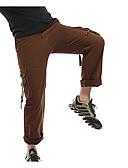 levne Pánské kalhoty a kraťasy-Pánské Základní Větší velikosti Kalhoty chinos Kalhoty - Jednobarevné Světle hnědá Armádní zelená Khaki 34 36 38