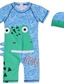 זול בגדי ים לבנים-בגדי ים כותנה דפוס בנים ילדים