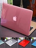 povoljno Oprema za MacBook-čvrsta boja kristalno prozirni poklopac za macbook pro air retina 11/12/13/15 inča (a1278-a1989) plastični tvrdi slučaj