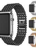 halpa Smartwatch-nauhat-Watch Band varten Apple Watch Series 4/3/2/1 Apple Korudesign Metalli Rannehihna