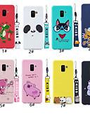 זול מגנים לטלפון-מגן עבור Samsung Galaxy A6 (2018) / A6+ (2018) / Galaxy A7(2018) תבנית כיסוי אחורי חיה / אנימציה רך TPU