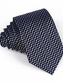 זול עניבות ועניבות פרפר לגברים-עניבת צווארון - קולור בלוק / סרוג מסיבה / בסיסי בגדי ריקוד גברים