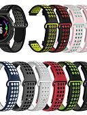זול להקות Smartwatch-צפו בנד ל Forerunner 735 / Forerunner 630 / Forerunner 620 Garmin רצועת ספורט סיליקוןריצה רצועת יד לספורט