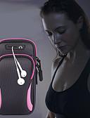 Χαμηλού Κόστους Men's Belt-unisex τσάντα τσάντα βραχίονα τσάντα αθλητικά τρέξιμο τσάντα τρέξιμο γυμναστήριο βραχίονα με τσάντα υποδοχής κινητό τηλέφωνο τσάντα ακουστικών αδιάβροχο 6,4 ιντσών