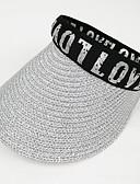 זול ילדים כובעים ומצחיות-S / L זהב / כסף כובעים ומצחיות אחיד / אותיות וינטאג' / פעיל / בסיסי בנות ילדים / פעוטות