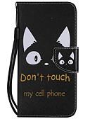 זול מגנים לאייפון-מארז עבור iPhone xr / iPhone xs מקס תבנית / להעיף / עם לעמוד גוף מלא במקרים עץ / נוצות / חתול רך pu עור עבור iPhone 6 / 6s / iPhone 6 / 6s פלוס / iPhone 7/8 / iPhone 7/8 בתוספת / iPhone xs