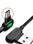 זול מגנים לאייפון-סוג C כבל 1.8M (6ft) קלוע / תשלום מהיר ניילון מתאם כבל USB עבור Huawei