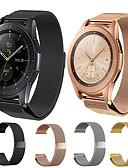 זול להקות Smartwatch-צפו בנד ל Samsung Galaxy Watch 46 / Samsung Galaxy Watch 42 Samsung Galaxy לולאה בסגנון מילאנו מתכת אל חלד רצועת יד לספורט