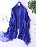 זול שמלות במידות גדולות-צעיף מלבני - אחיד עבודה / פעיל / בסיסי בגדי ריקוד נשים