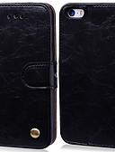 זול מגנים לאייפון-מארז iPhone 7 / iPhone 7 פלוס פרח פו עור עם חריץ כרטיס להעיף מעלה ומטה עבור iPhone 5se / 6 / 6s / 7/8 / ix / xs / xr / xsmax
