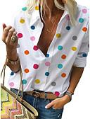 povoljno Majica-Majica Žene - Ulični šik Kauzalni / Ulica Na točkice Print Obala US16