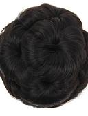 זול חליפות לנושאי הטבעת-Wig Accessories / אביזר לשיער / אביזרים לתחפושת כיסויי ראש / חתונה גולגול הלבשה קלה / חתונה / תסרוקת גבוהה נתפס עם קליפס שיער סינטטי חתיכת שיער הַאֲרָכַת שֵׂעָר כיסויי ראש / חתונה