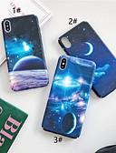 hesapli iPhone Kılıfları-Apple iphone xr / iphone xs max desen / karanlıkta kızdırma arka kapak sahne yumuşak tpu iphone x xs 8 8 artı 7 7 artı 6 6 artı 6 s 6 s artı