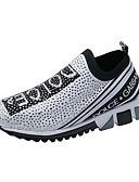 hesapli Takımlar-Kadın's Spor Ayakkabısı Düz Taban Tissage Volant Tatlı / Minimalizm Yürüyüş İlkbahar yaz / Sonbahar Kış Sarı / Kırmzı / Mavi
