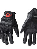 זול חליפות לנושאי הטבעת-אצבע מלאה יוניסקס כפפות אופנוע עור כבשה מסך מגע / נושם / עמיד בפני שחיקה